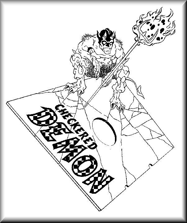 Checkered Demon Logo